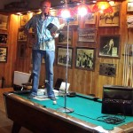Toby Thompson Reads at Stacey's Bar